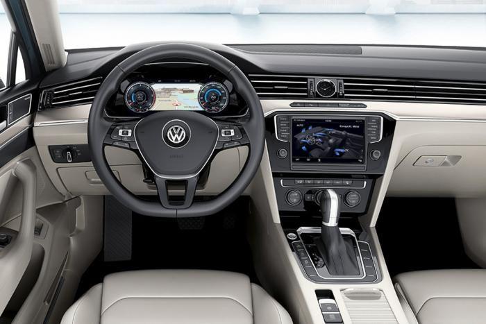 2020 Volkswagen Passat Gte Advance Estate Uk Spec Plug In Hybrid Interior Cockpit Hd Wallpaper 18
