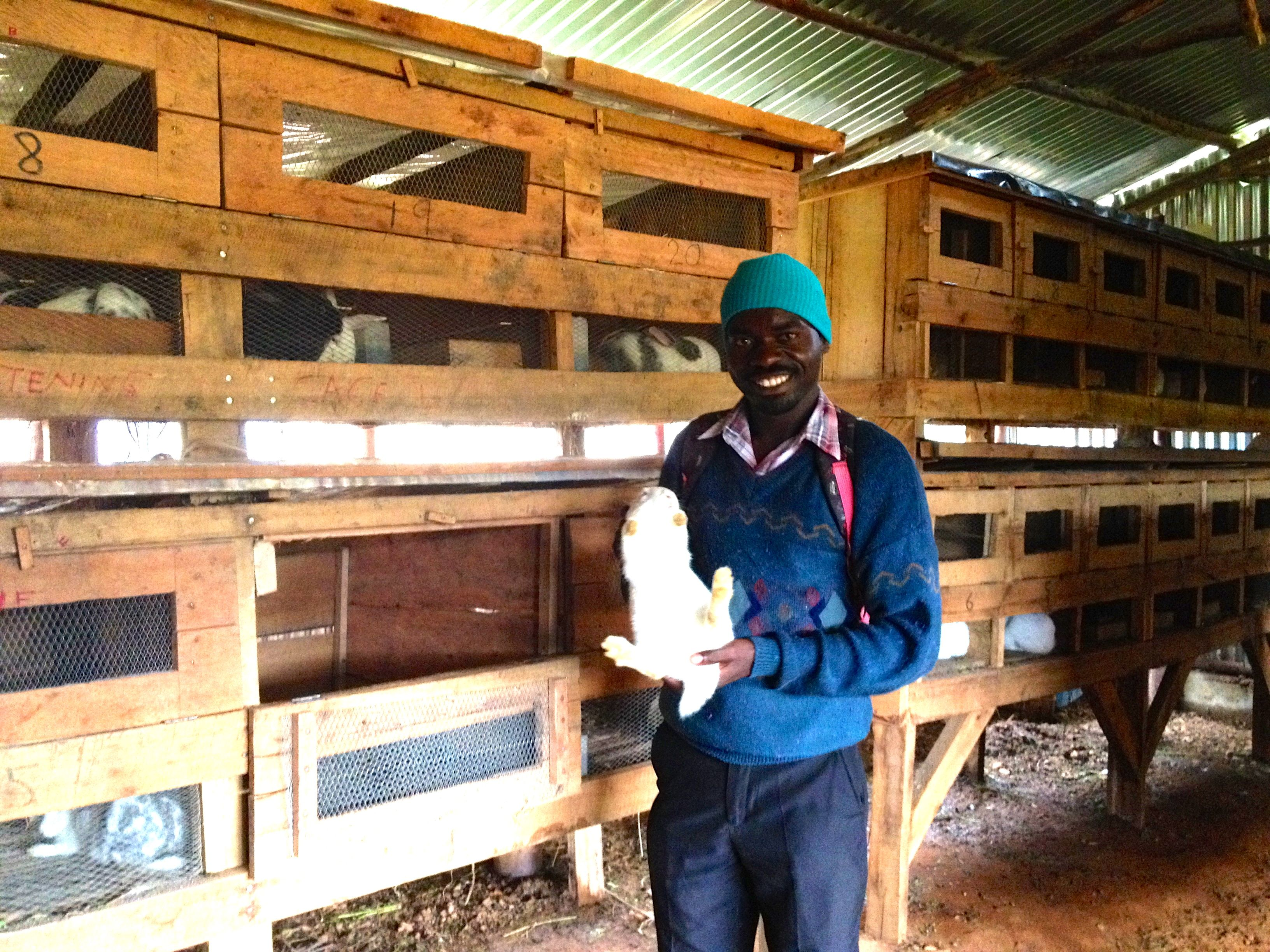 CFHI supports the Rabbit Breeding and Training Centre in