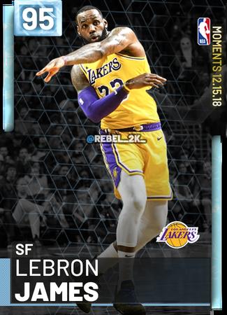 403) LeBron James - NBA 2K19 Custom Card - 2KMTCentral   NBA