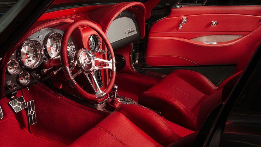 1963 Chevrolet Corvette Resto Mod Ls3 500 Hp 5 Speed Mecum Auctions Corvette Chevrolet Corvette Chevrolet