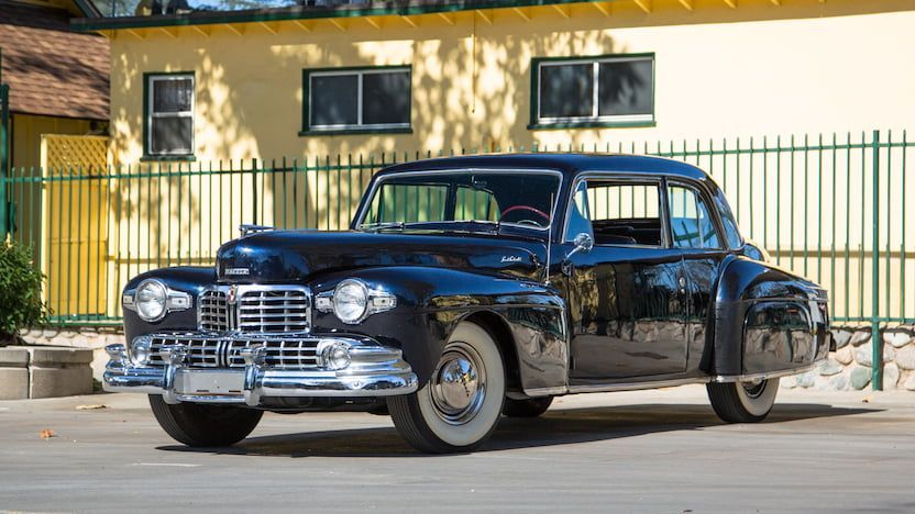 1948 Lincoln Continental   F176   Kansas City 2018   Mecum Auctions