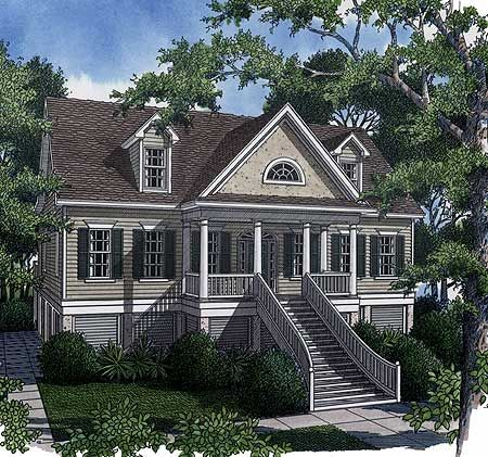 Plan 9113gu Low Country Retreat Low Country Homes Country Retreat House Plans