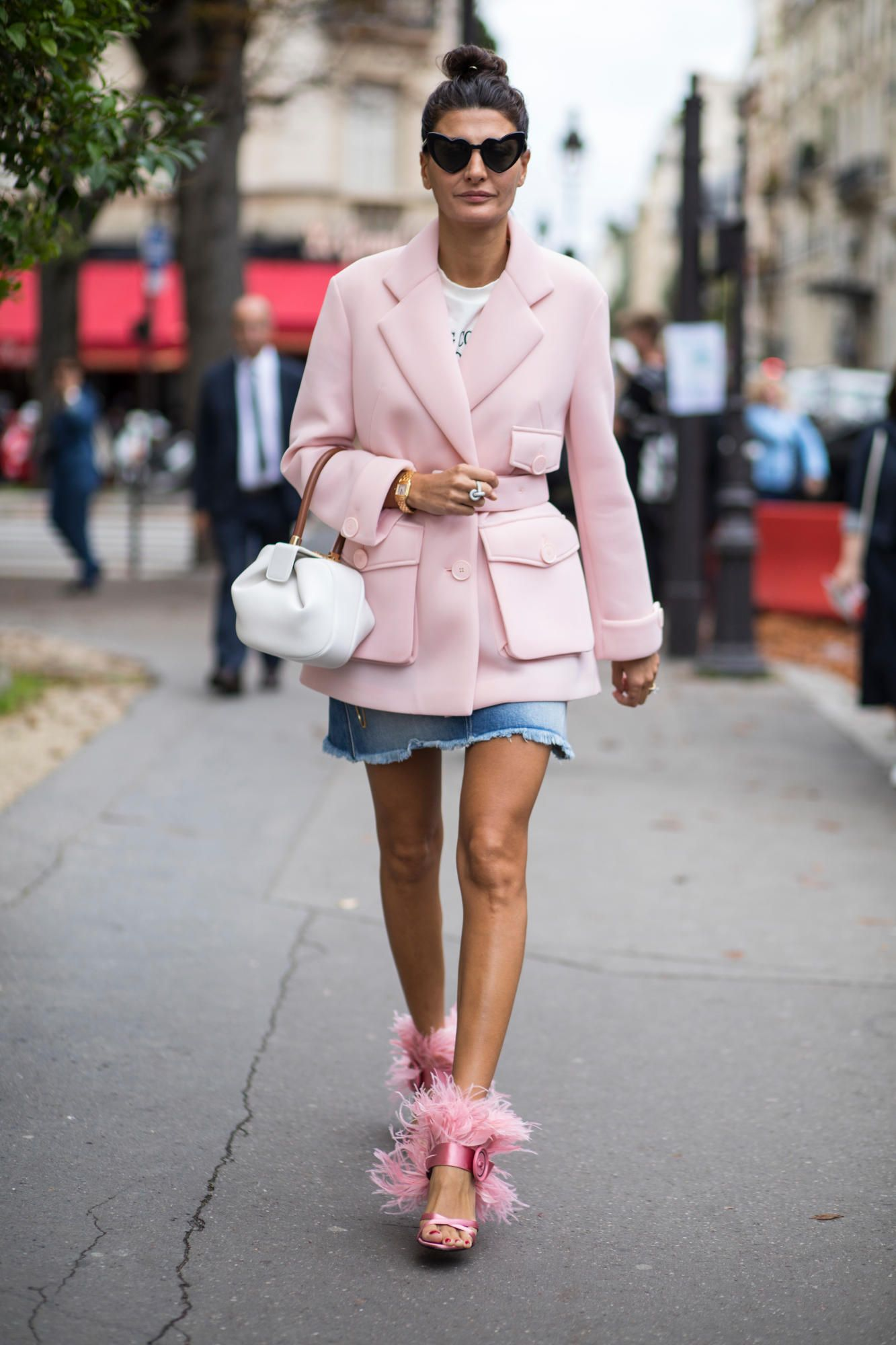 c0a7d5d69be The Best Street Style Looks From Paris Fashion Week Spring 2018 ...