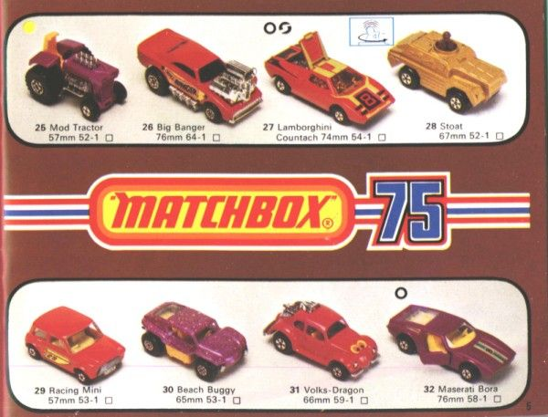 Matchbox 1976 Collector/'s Catalog