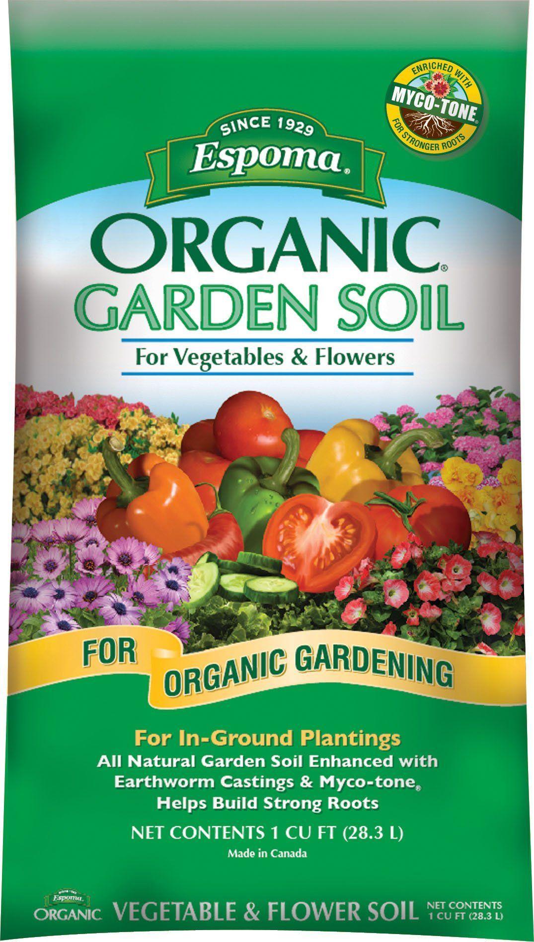 Espoma Company Soils Organic Garden Soil For Vegetables And
