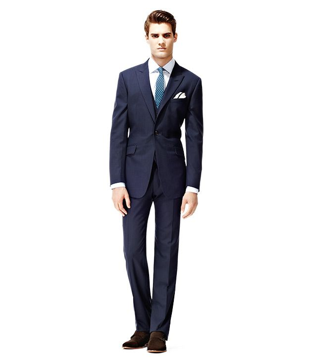 Bloom Classic 3 piece suit by Reiss | wedding- the lads | Pinterest ...