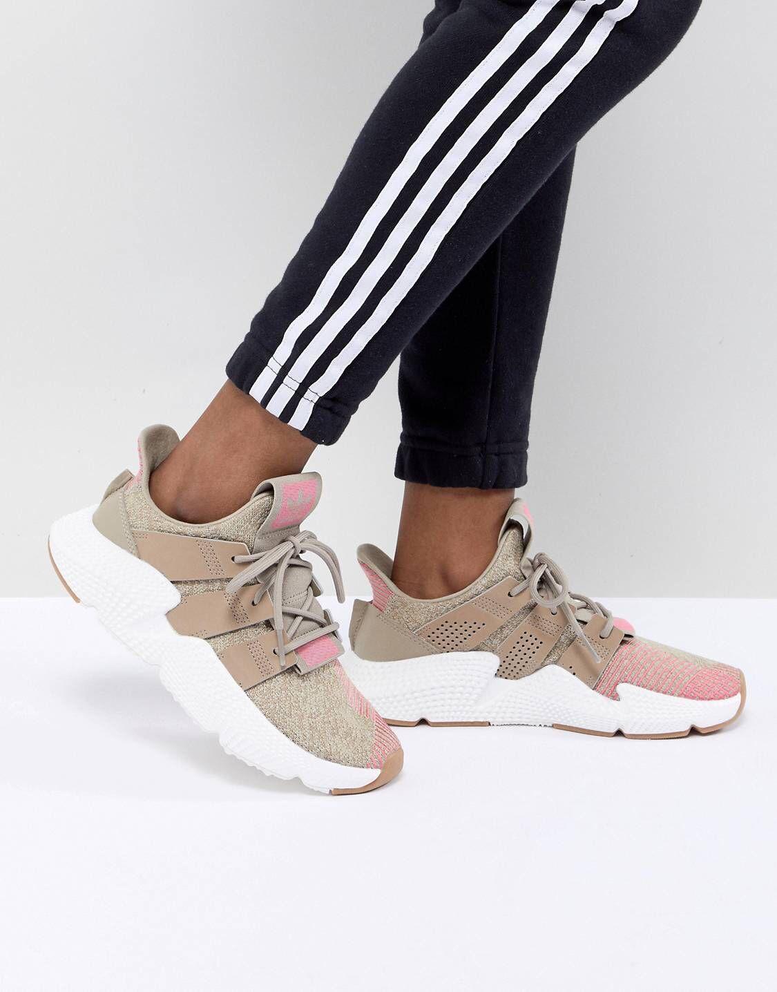 Zapatillas de deporte en beis y rosa Prophere de adidas Originals adidas Originals 3Akdj