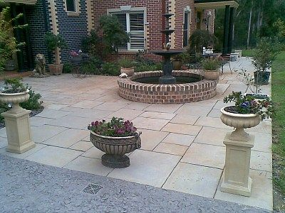Gardens · Yorkstone Flagging