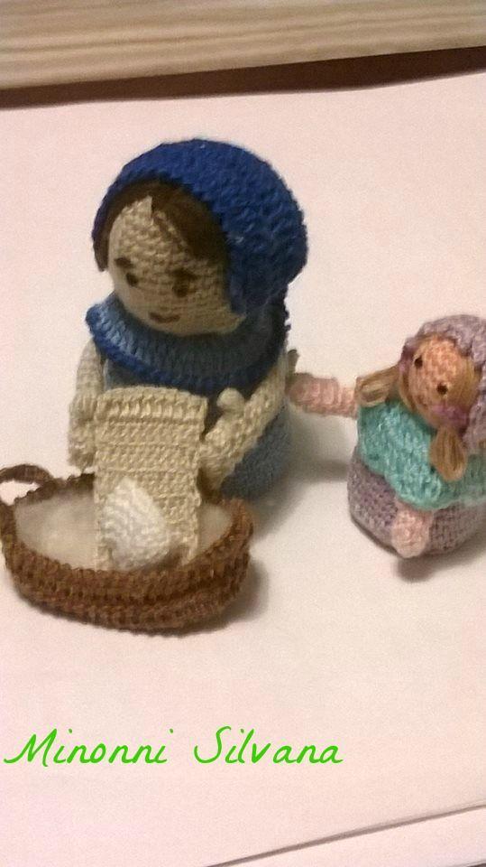 Amigurumi Uncinetto Gratis : #lavandaia ?#?crochet? ?#?amigurumi? ?#?uncinetto ...