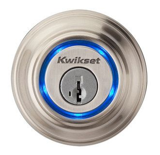Kevo Single Cylinder Bluetooth Deadbolt Kevo Collection Finishes Data Function Single Cylinder Cross Bore 1 1 2 2 1 8 Door Thickness 1 Deadbolt