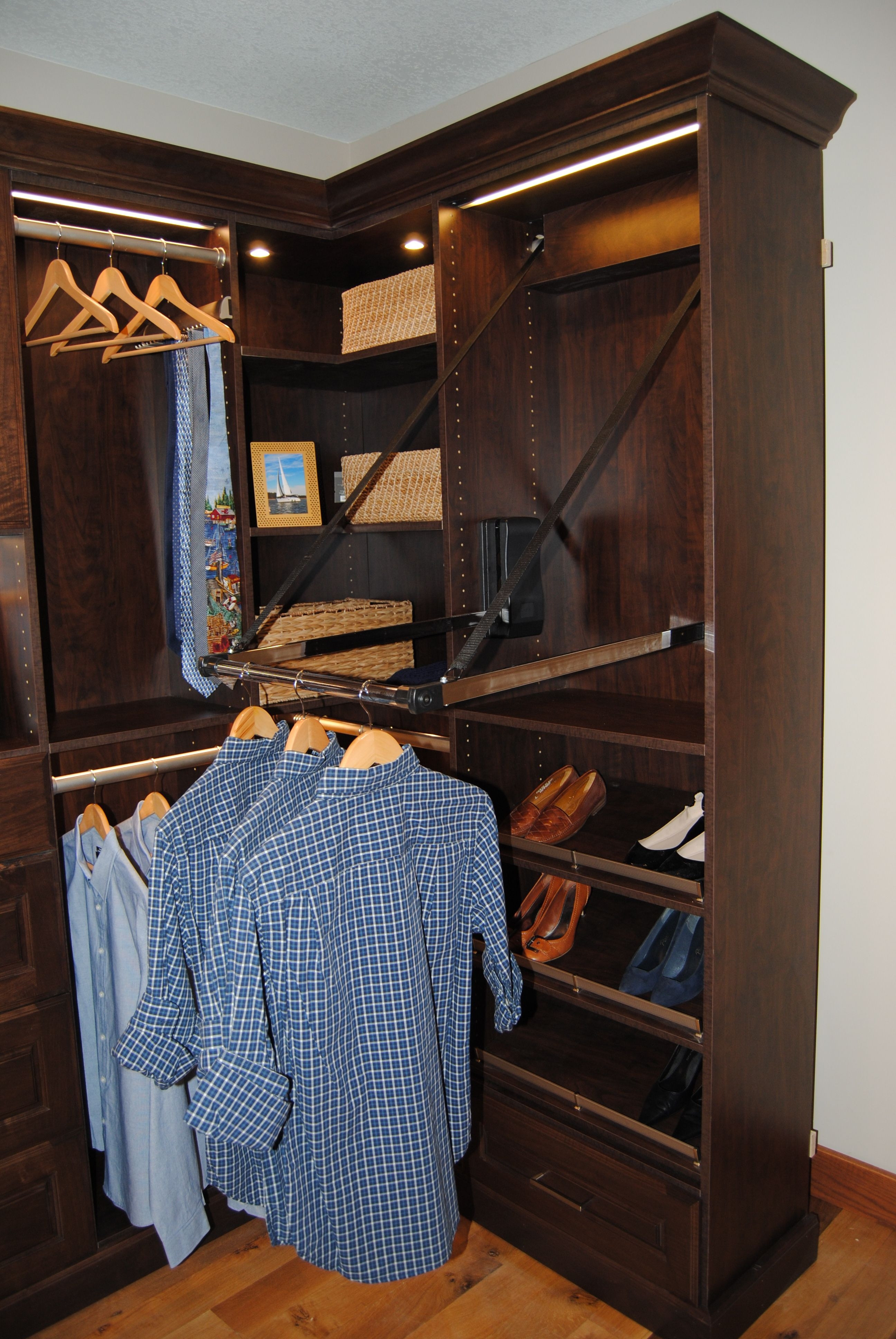 Swan Creek Cabinet Company, Boone Iowa We Design Custom Closet Systems To  Fit Your Style Needs!