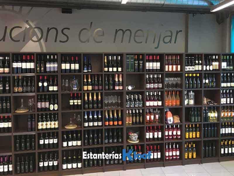 Gourmet kloof estanter a modular para botellas de vino - Estanterias para botellas ...