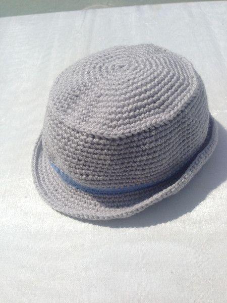 Hut (gehäkelt) für kleine Lausbuben von mit Nadel, Charme & Wolle ...