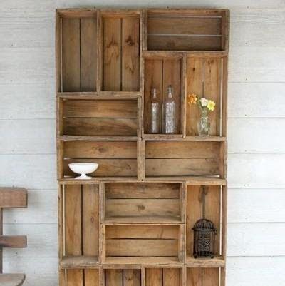 Mira estos originales muebles hechos con palets para - Muebles originales reciclados ...
