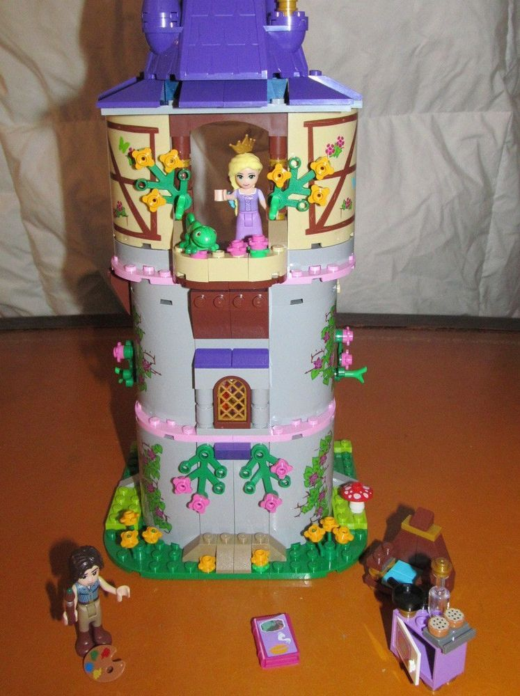 Lego Disney Princess Tangled Castle Tower 41054 Previously Owned