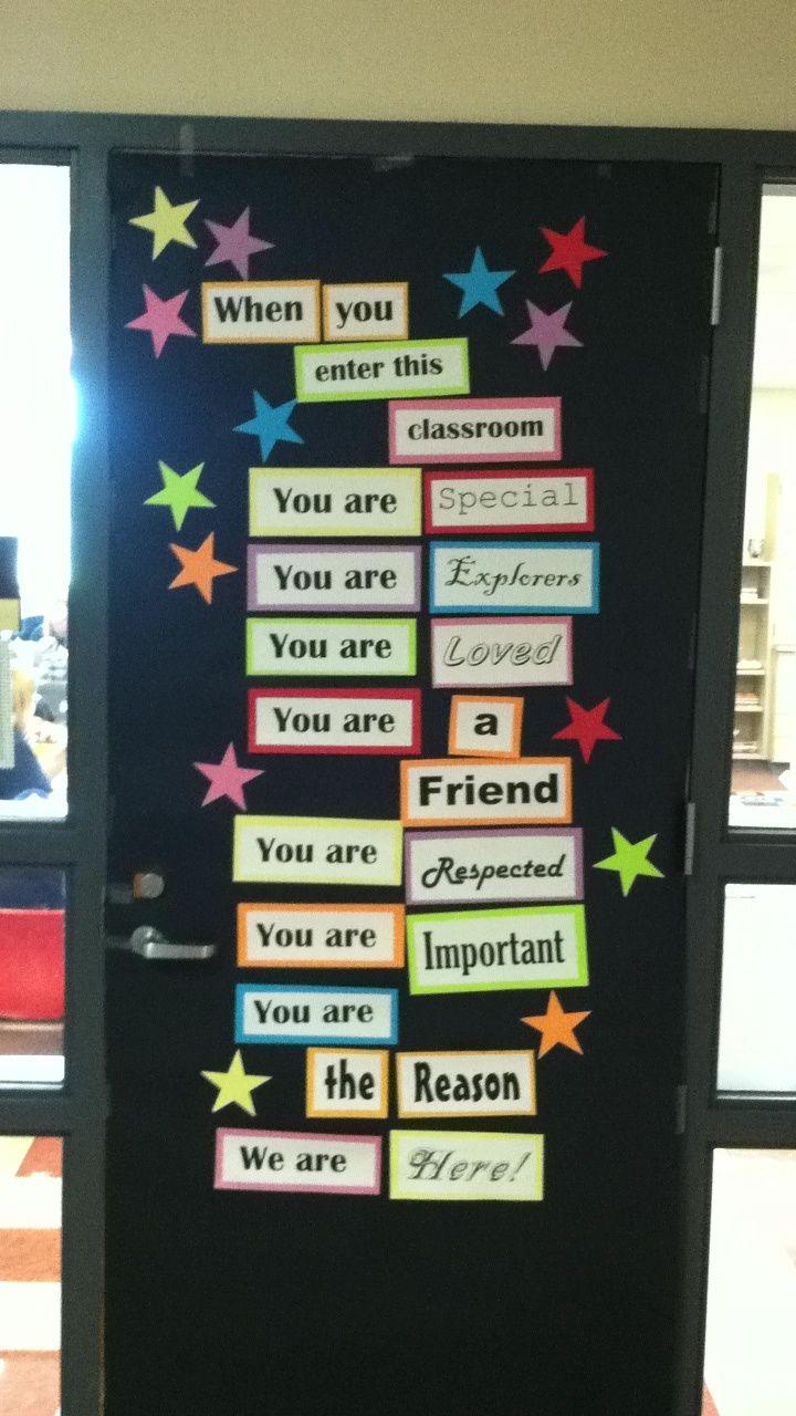 Classroom Door Decorating Ideas For Testing ...