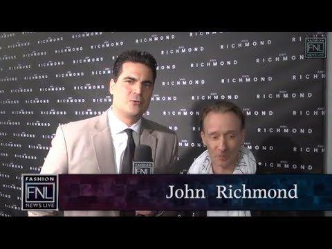 #FNL Talks to John Richmond @Camera Nazionale della Moda Italiana #milan #italy #johnrichmond #MFW #FW14