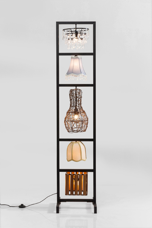 stehleuchte extravagant besonders lampenschirm mit