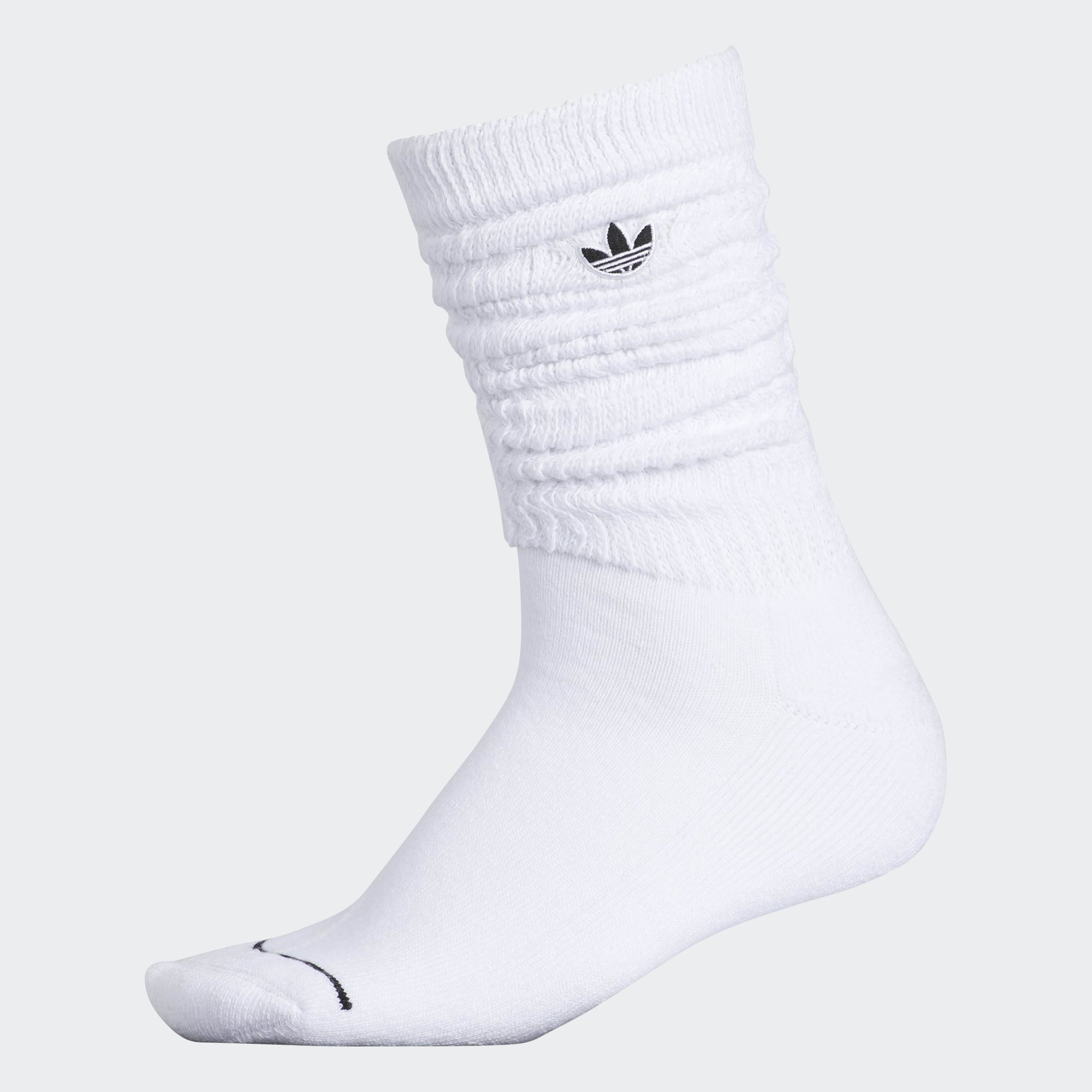 cac718e6a5 ☆ Adidas - Slouch Crew Socks 1 Pair (in White) ☆ | ❤ Fashion ...