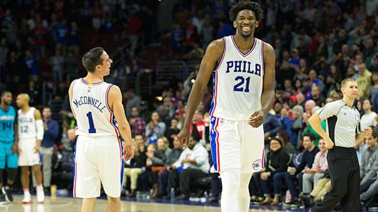 Philadelphia 76ers, NBA, Sixers, T.J. McConnell, Joel