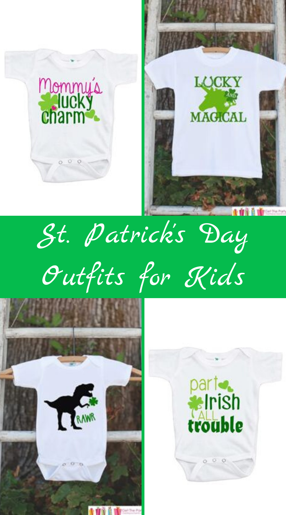 Patricks Day T-Shirt 7 ate 9 Apparel Kids Mommys Lucky Charm St