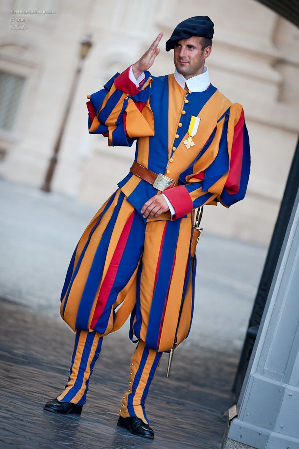 Guardia Svizzera. The Swiss Guard, Founded In 1506 For The