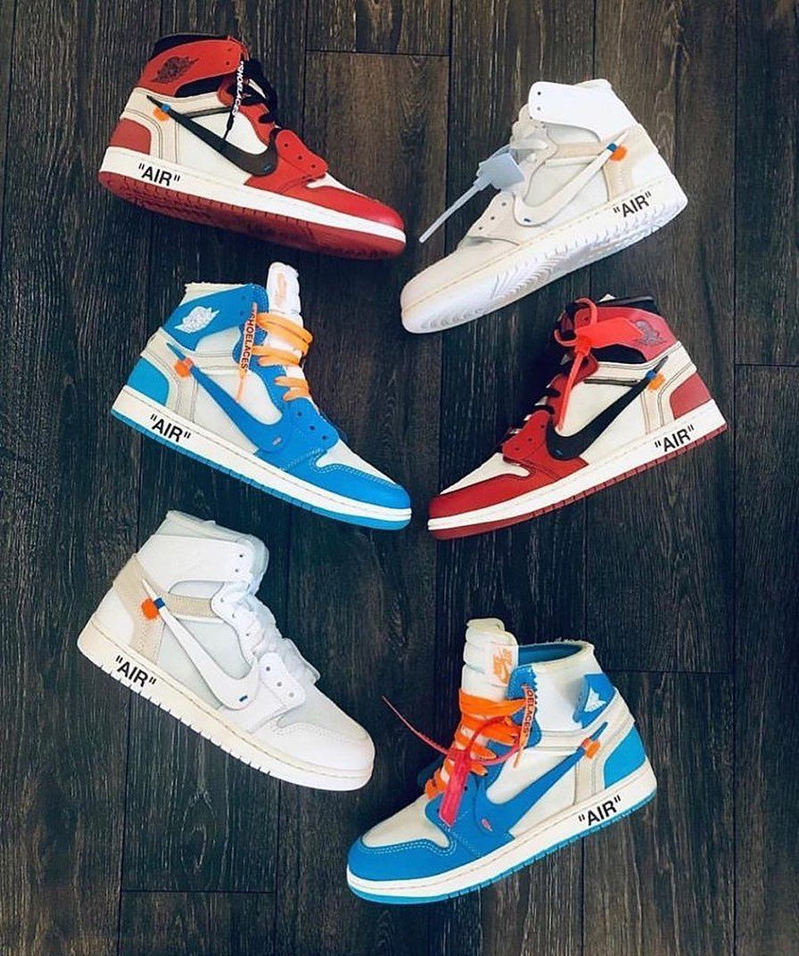 Jordan 1 Retro High Off White Chicago With Images