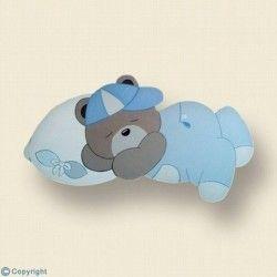 Silueta infantil-Osito dormilón
