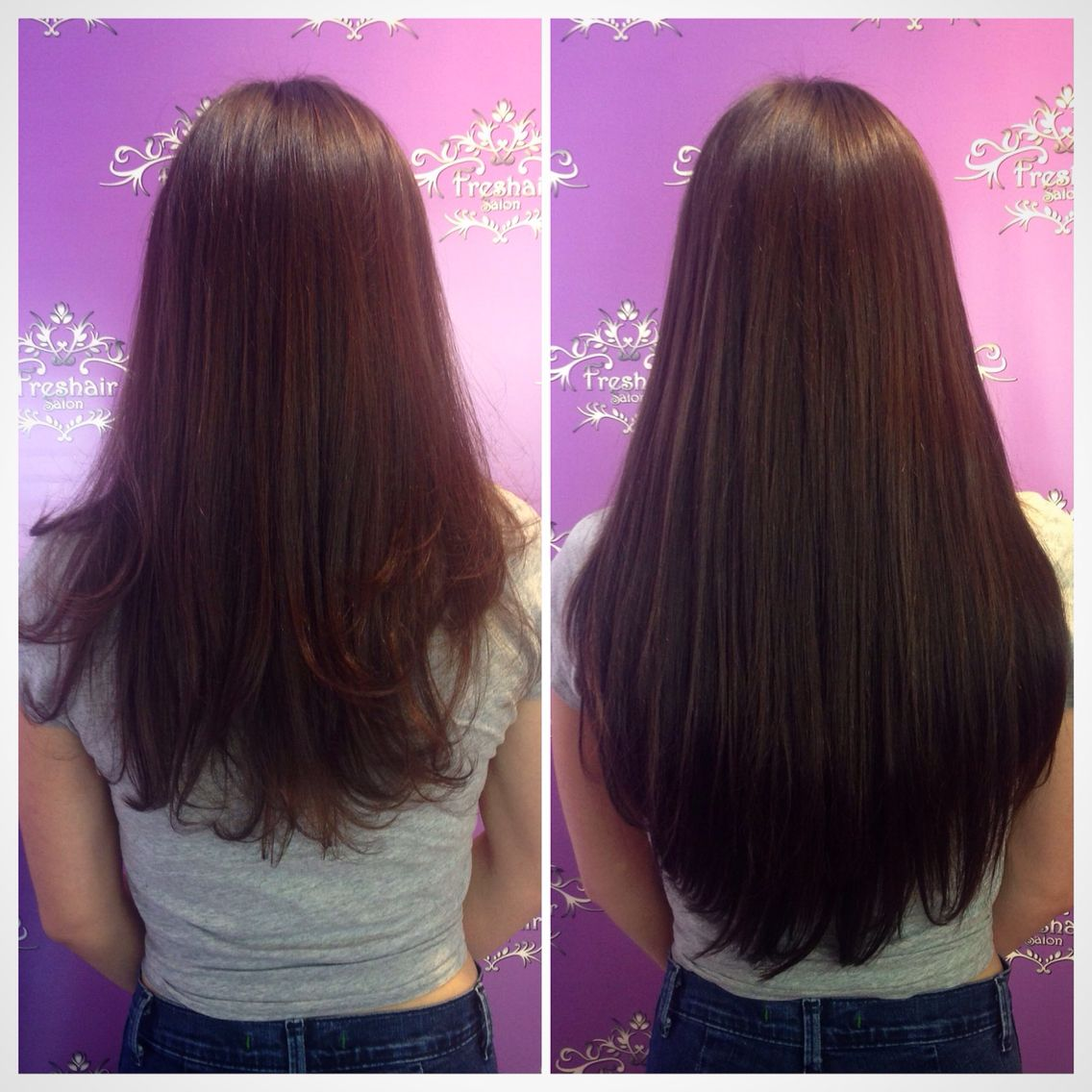 Create length and thickness with @hotheadshairextensions  Stylist- Shelby Lambidonis #justcallherkimk #longhairdontcare #extensions #hotheads #fayettevillear #freshairsalon #freshairstylist