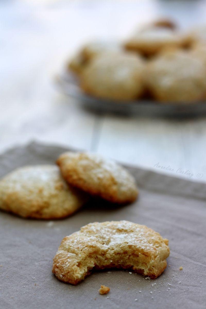 Les amaretti : petits biscuits moelleux aux amandes venus d'Italie !