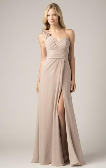 29bef22b45b Stunning Mocha Bridesmaid Dress BNNCK0011-Bridesmaid UK. Stunning Mocha Bridesmaid  Dress BNNCK0011-Bridesmaid UK One Shoulder Bridesmaid Dresses, Champagne ...
