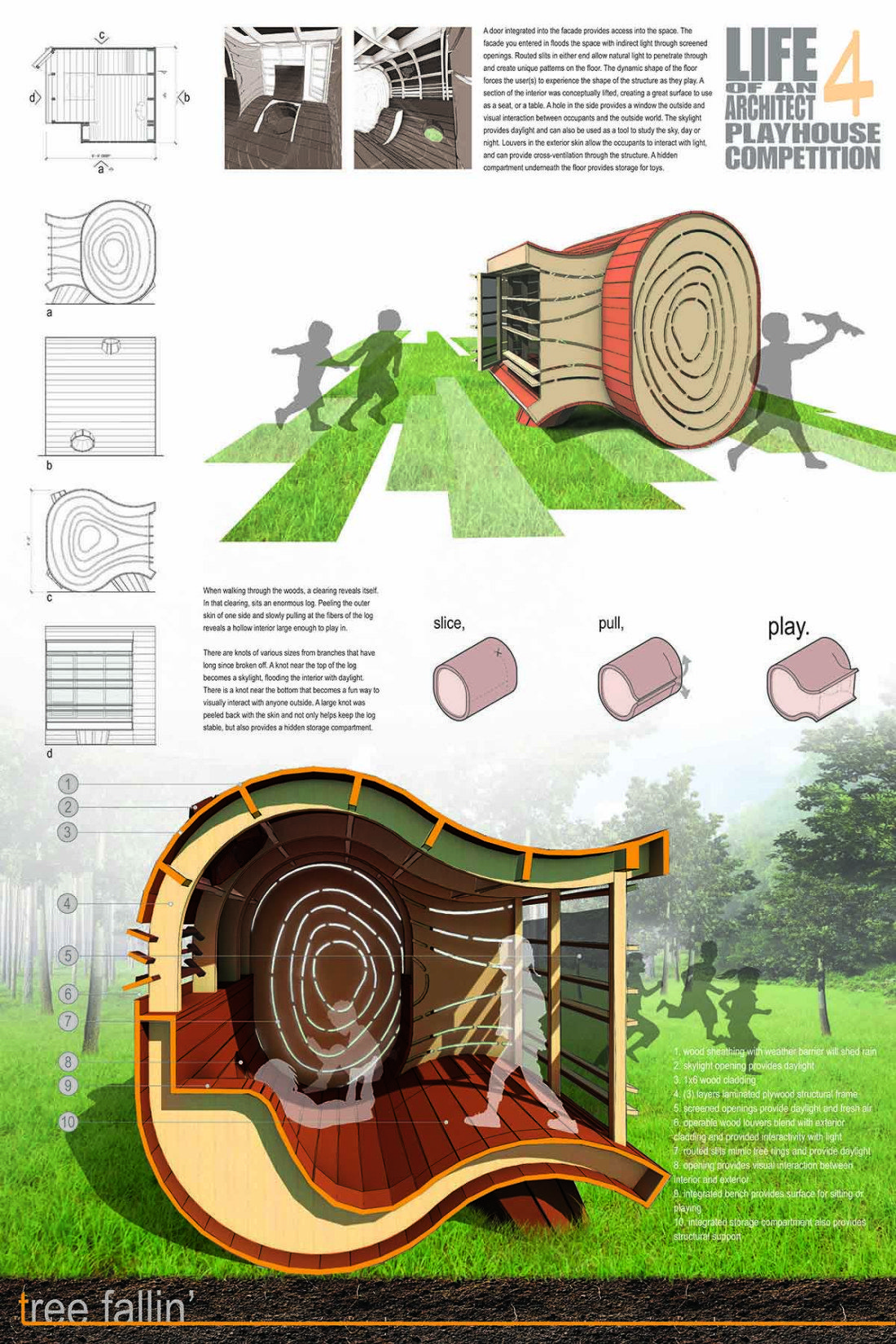 The Finalists – 2015 Life of an Architect Playhouse Design ...
