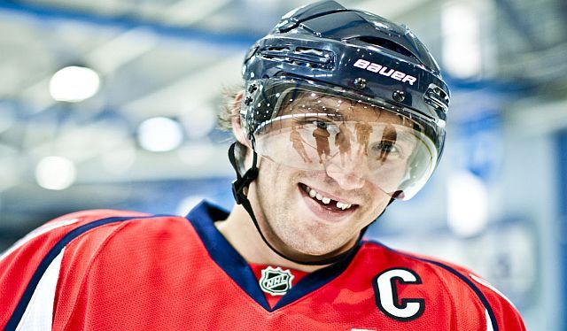 Alex Ovechkin for Bauer Hockey  91346c9b12