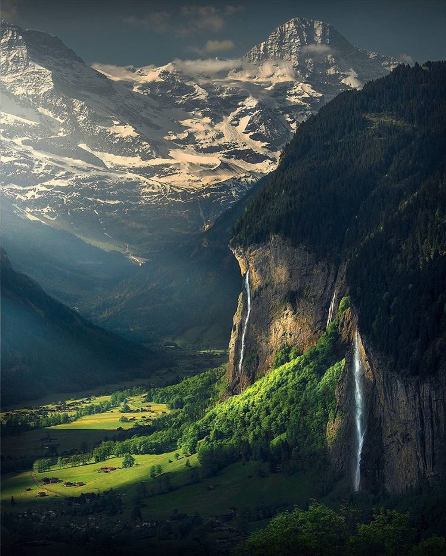 Lauterbrunnen Valley Switzerland From Photographer Max Rive Scenery Nature Photography Nature