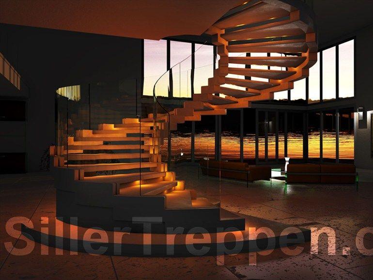 Escalier En Colimacon Autoportant Cobra By Siller Treppen Treppe