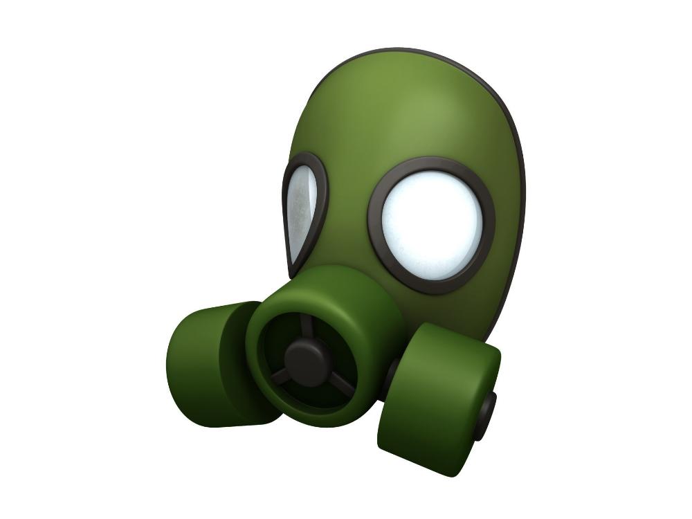Gas Mask 3d Model Gas Mask Mask Opera Mask