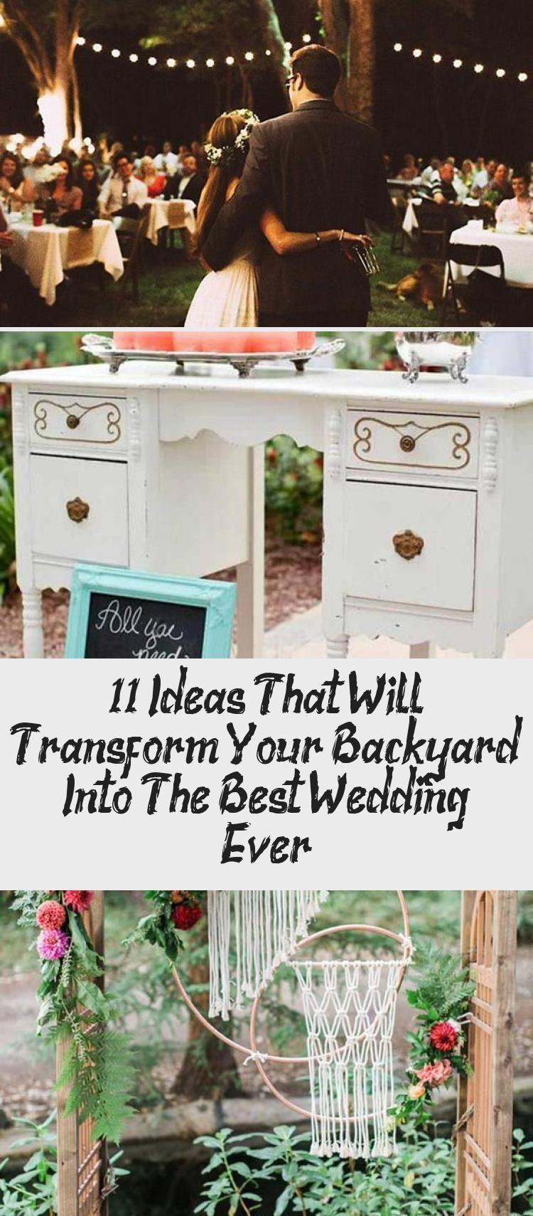 En Blog - En Blog in 2020 | Small garden wedding, Backyard ...