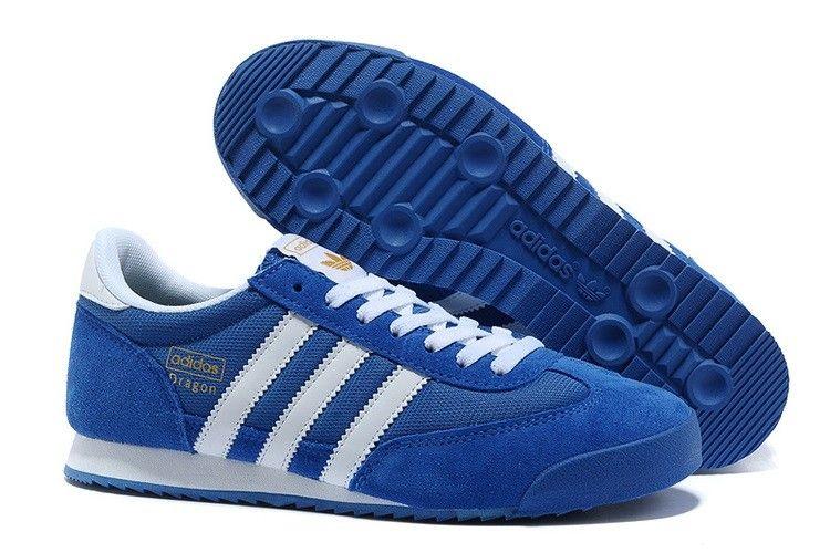 Adidas Originals Dragon Männer Blau Weiß