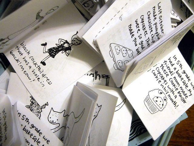 My zines from Rancho Cocoa blog. #zine #comic #handmade