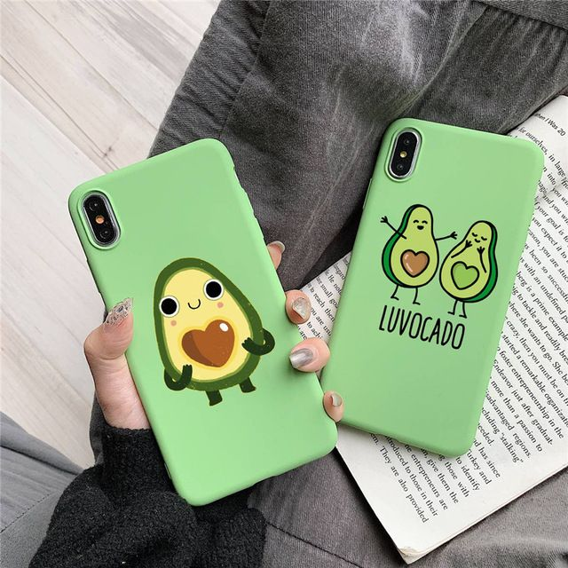CUTE LUVOCADO IPHONE CASE (3 VARIAN)