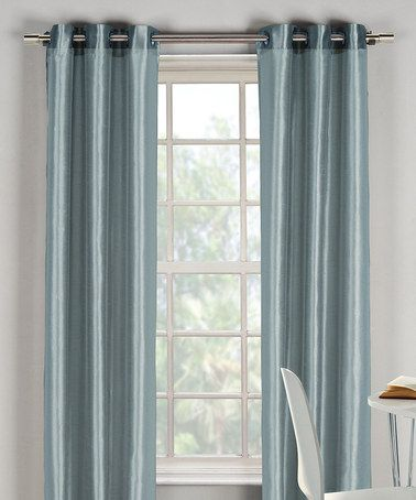 Look what I found on #zulily! Blue Bali Curtain - Set of Two #zulilyfinds