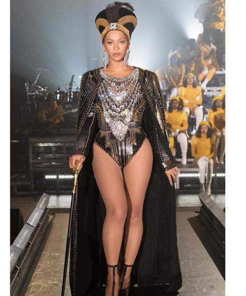 2f35fcd8b61 Checkout All The Outfits Beyonce Wore For Her Memorable Coachella 2018  Performance