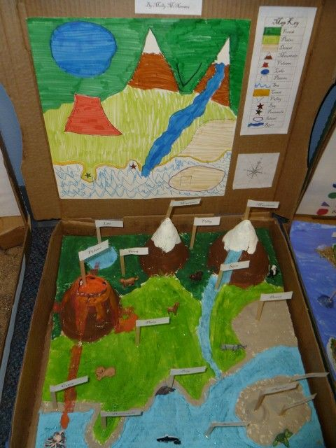 Mrs Parks - Third Grade Landform Projects School Projects - land form