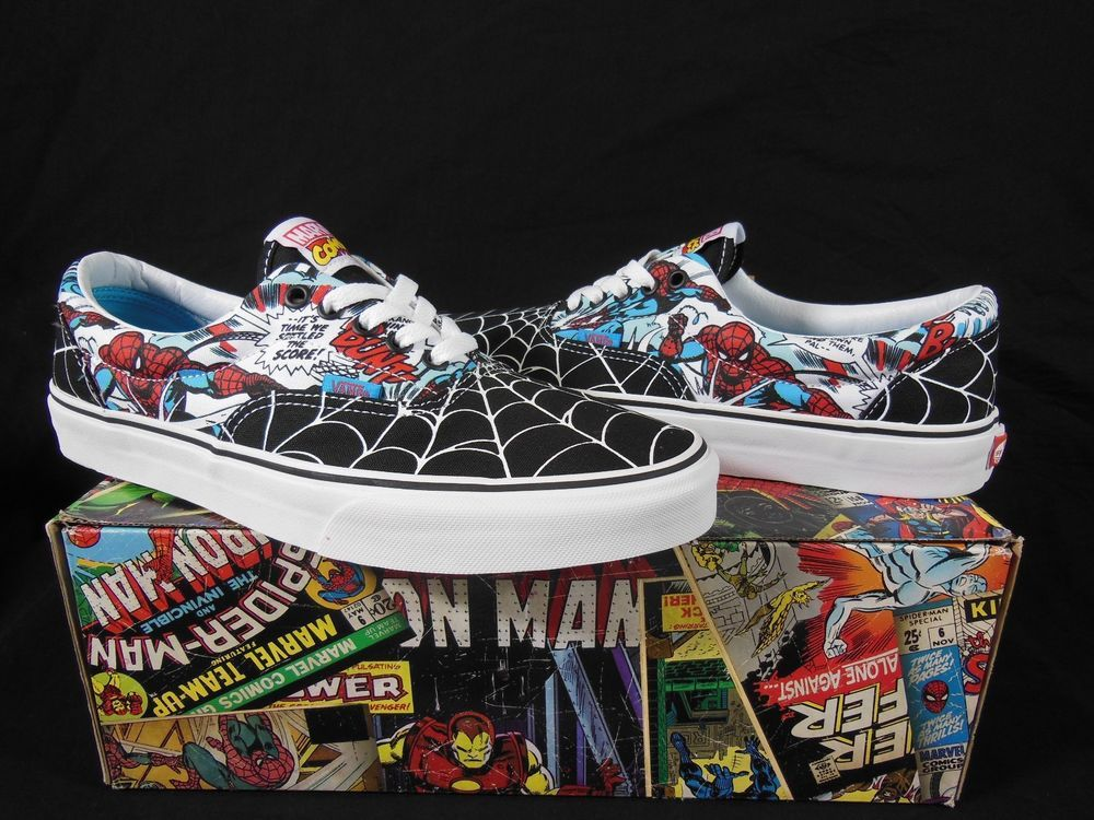 zapatos vans marvel