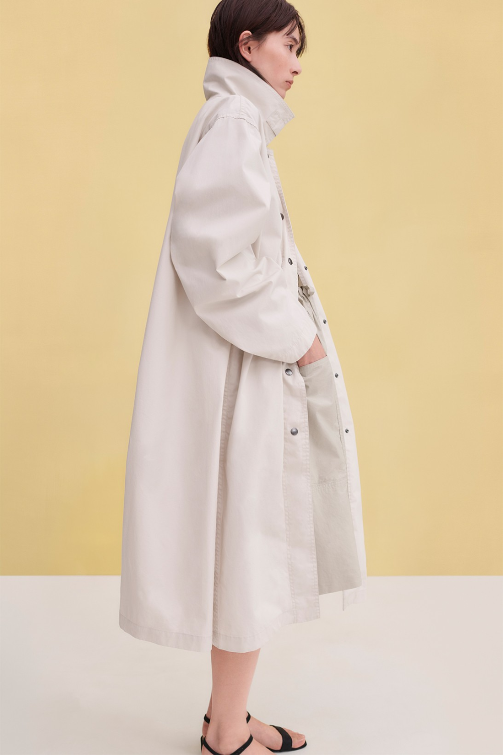 Take A Look At Uniqlo U S Ss20 Contemporary Future Lifewear Essentials Collection Long Coat Coats For Women Uniqlo [ 1500 x 1000 Pixel ]