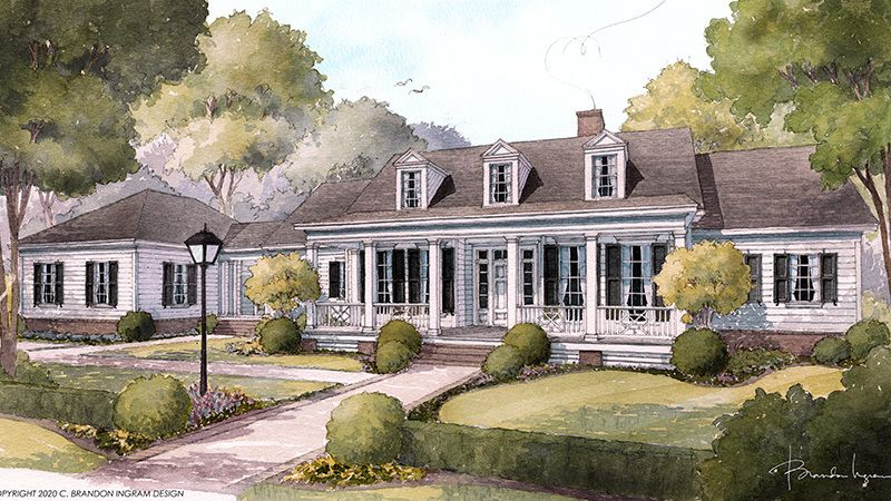 Bellewood Cottage Southern Living House Plans In 2020 Southern Living House Plans One Level House Plans Southern House Plans
