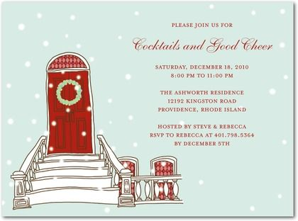 potential Xmas party invitation