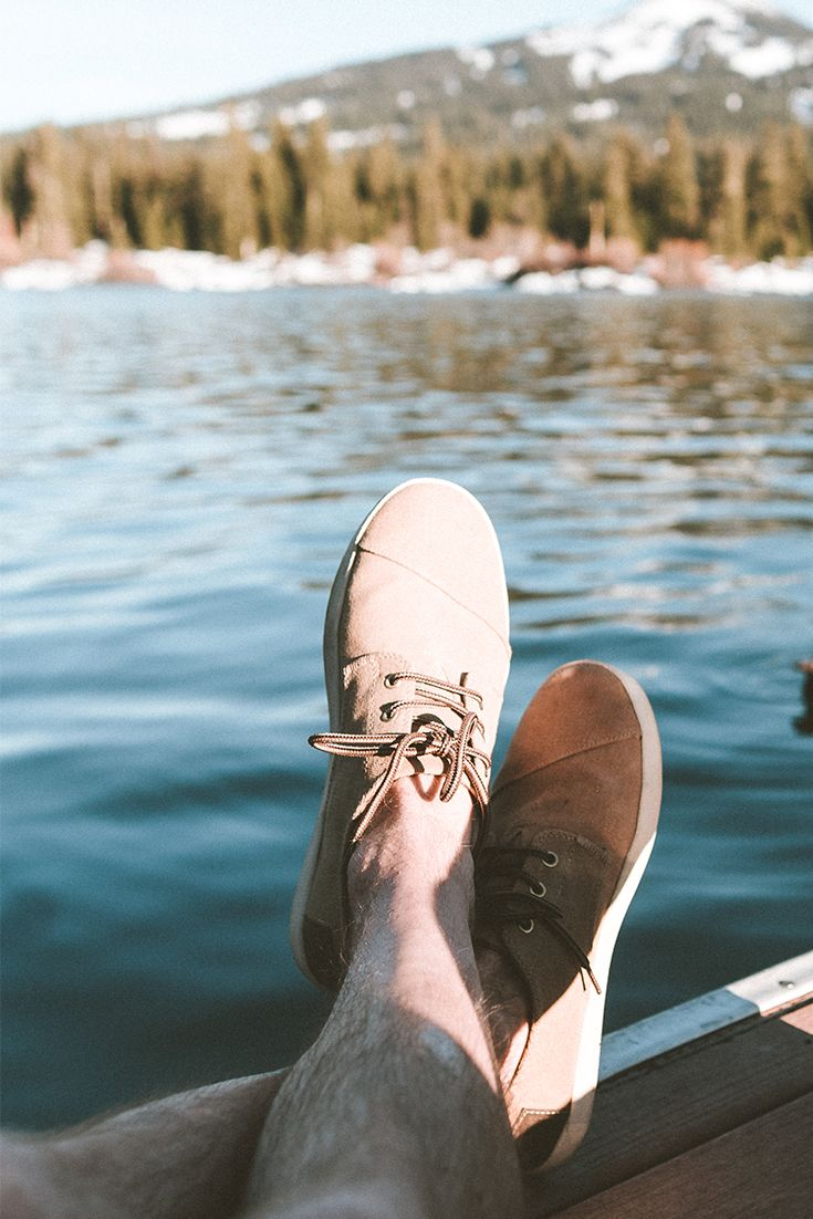 0edc5d0bee4 For more than just kicking back on a Friday afternoon. TOMS lace up shoes  are always weekend ready.