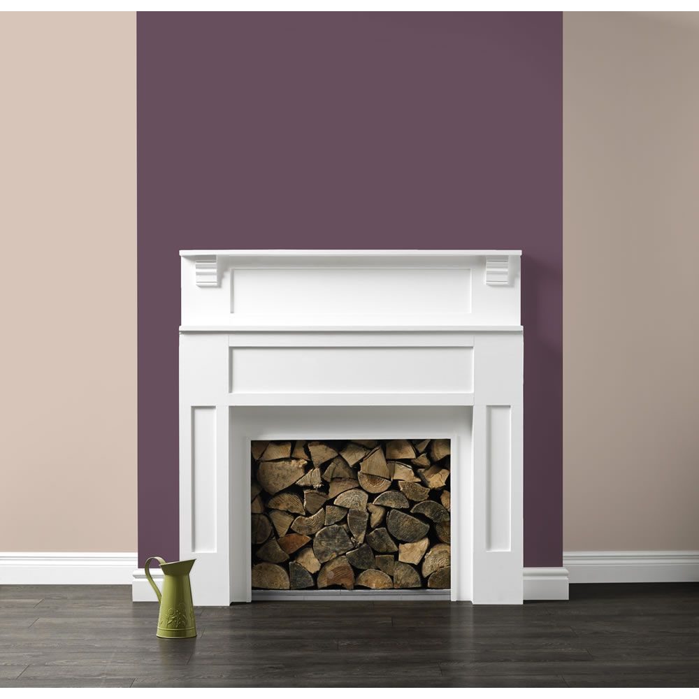 Mulberry burst dulux google search house paint and Fireplace feature wall colour