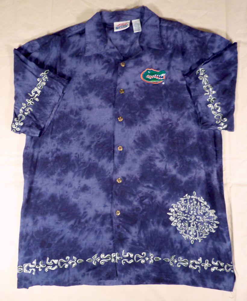University of Florida UF Gators Hawaiian Tie Dye Spike Sports ...